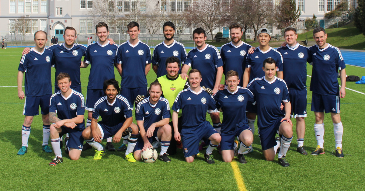 Bombastic FC B Team Photo